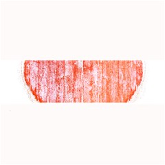 Pop Art Style Grunge Graphic Heart Large Bar Mats