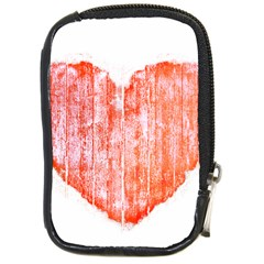 Pop Art Style Grunge Graphic Heart Compact Camera Cases