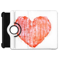 Pop Art Style Grunge Graphic Heart Kindle Fire HD 7