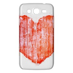Pop Art Style Grunge Graphic Heart Samsung Galaxy Mega 5.8 I9152 Hardshell Case