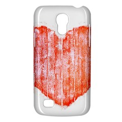 Pop Art Style Grunge Graphic Heart Galaxy S4 Mini