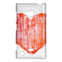 Pop Art Style Grunge Graphic Heart Nokia Lumia 720