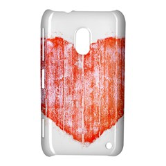 Pop Art Style Grunge Graphic Heart Nokia Lumia 620