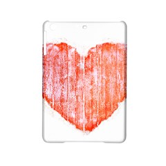 Pop Art Style Grunge Graphic Heart iPad Mini 2 Hardshell Cases