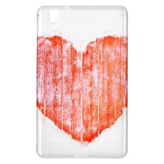 Pop Art Style Grunge Graphic Heart Samsung Galaxy Tab Pro 8.4 Hardshell Case