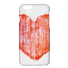 Pop Art Style Grunge Graphic Heart Apple iPhone 6 Plus/6S Plus Hardshell Case