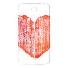 Pop Art Style Grunge Graphic Heart Samsung Galaxy Mega I9200 Hardshell Back Case