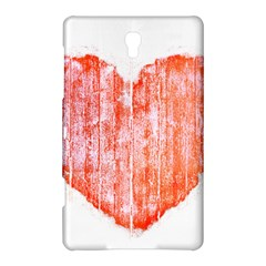 Pop Art Style Grunge Graphic Heart Samsung Galaxy Tab S (8.4 ) Hardshell Case