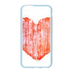 Pop Art Style Grunge Graphic Heart Apple Seamless iPhone 6/6S Case (Color)