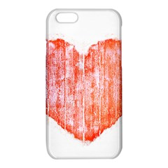 Pop Art Style Grunge Graphic Heart iPhone 6/6S TPU Case