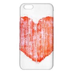 Pop Art Style Grunge Graphic Heart iPhone 6 Plus/6S Plus TPU Case