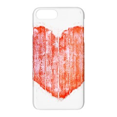 Pop Art Style Grunge Graphic Heart Apple iPhone 7 Plus Hardshell Case