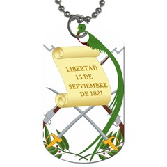 National Emblem of Guatemala  Dog Tag (One Side)