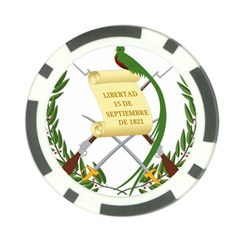 National Emblem Of Guatemala  Poker Chip Card Guard