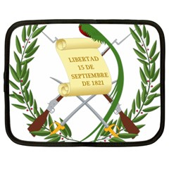 National Emblem of Guatemala  Netbook Case (XXL)