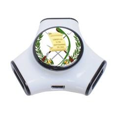 National Emblem of Guatemala  3-Port USB Hub