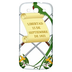 National Emblem of Guatemala  Samsung Galaxy S3 S III Classic Hardshell Back Case