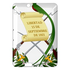 National Emblem of Guatemala  Kindle Fire HDX Hardshell Case