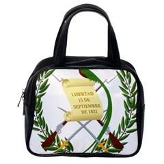 National Emblem of Guatemala Classic Handbags (One Side)