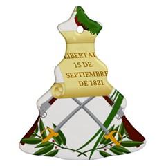 National Emblem of Guatemala Christmas Tree Ornament (Two Sides)