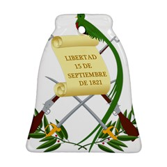 National Emblem of Guatemala Bell Ornament (Two Sides)