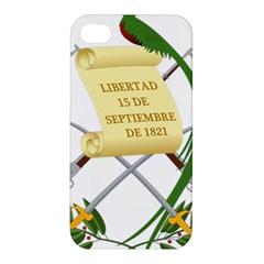 National Emblem of Guatemala Apple iPhone 4/4S Premium Hardshell Case