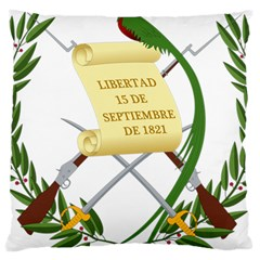 National Emblem of Guatemala Large Cushion Case (One Side)