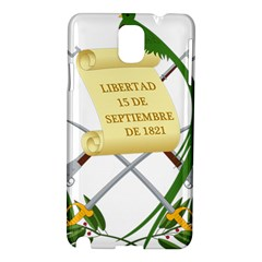 National Emblem of Guatemala Samsung Galaxy Note 3 N9005 Hardshell Case