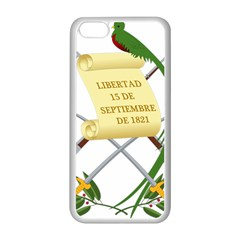 National Emblem of Guatemala Apple iPhone 5C Seamless Case (White)