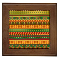 Mexican Pattern Framed Tiles
