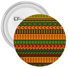 Mexican Pattern 3  Buttons