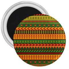 Mexican Pattern 3  Magnets