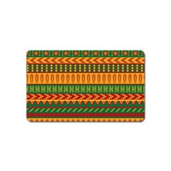 Mexican Pattern Magnet (Name Card)