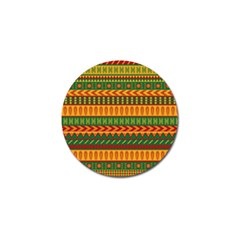 Mexican Pattern Golf Ball Marker (10 pack)