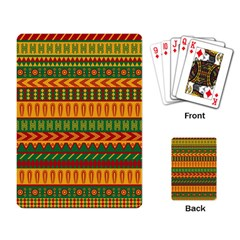 Mexican Pattern Playing Card
