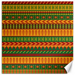 Mexican Pattern Canvas 12  X 12