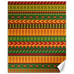 Mexican Pattern Canvas 16  X 20