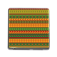 Mexican Pattern Memory Card Reader (square)