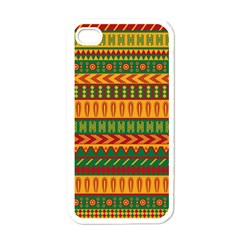 Mexican Pattern Apple iPhone 4 Case (White)