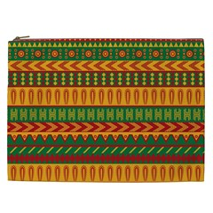 Mexican Pattern Cosmetic Bag (XXL)