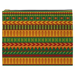 Mexican Pattern Cosmetic Bag (XXXL)