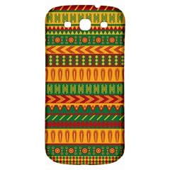 Mexican Pattern Samsung Galaxy S3 S III Classic Hardshell Back Case