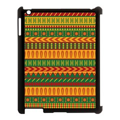 Mexican Pattern Apple iPad 3/4 Case (Black)