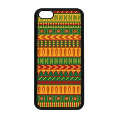 Mexican Pattern Apple iPhone 5C Seamless Case (Black)