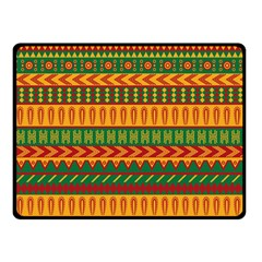Mexican Pattern Double Sided Fleece Blanket (small)