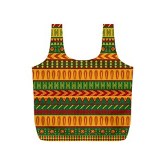 Mexican Pattern Full Print Recycle Bags (S)