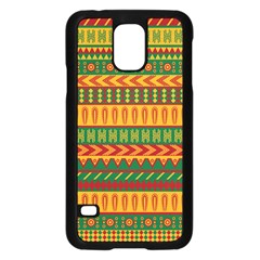 Mexican Pattern Samsung Galaxy S5 Case (Black)