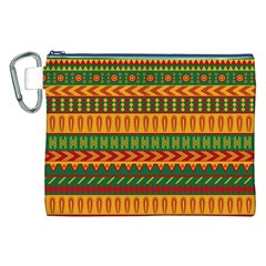 Mexican Pattern Canvas Cosmetic Bag (xxl)