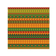 Mexican Pattern Small Satin Scarf (Square)