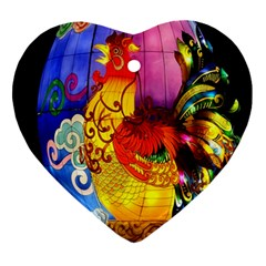 Chinese Zodiac Signs Ornament (Heart)